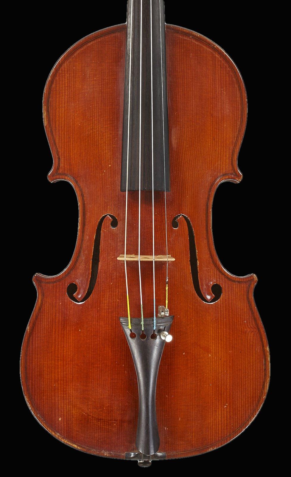 Italian violin by  Natale Carletti, Pieve di cento 1950