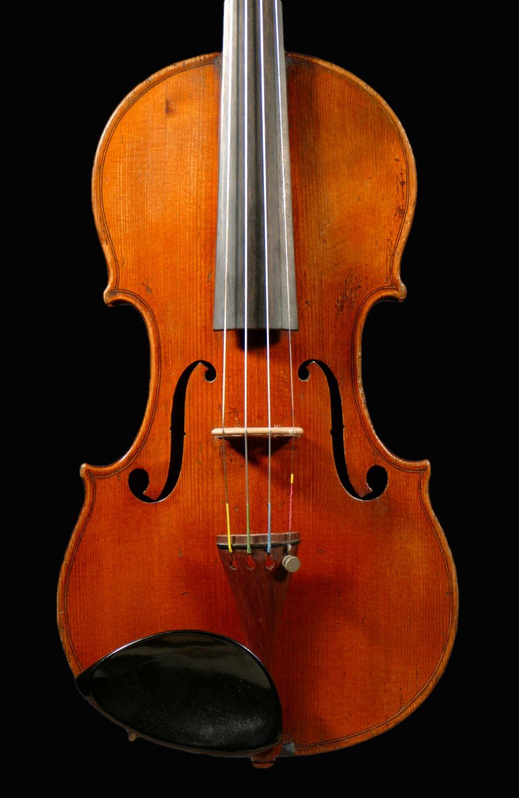 Italian violin made for Girolamo Trucco, Savona ca 1840